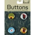 Gama-Go Eyes Button Set