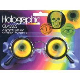 Glasses - Eyeball Hologram