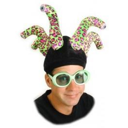 Hat - Eye Stalks - Leopard