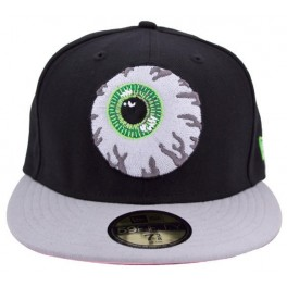 Hat - Mishka Keep Watch New Era - Black-Grey 7 1/2