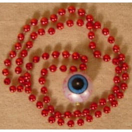 Necklace - Beaded Eyeball