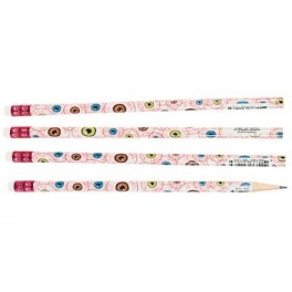 Pencils - Scary Eyeball (12 pack)