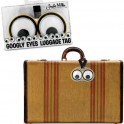 Googly Eyes Luggage Tag