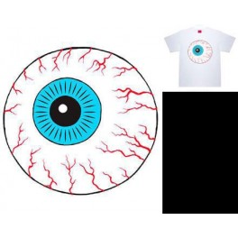T-Shirt - Mishka Throwback Keep Watch T-Shirt - White - XL