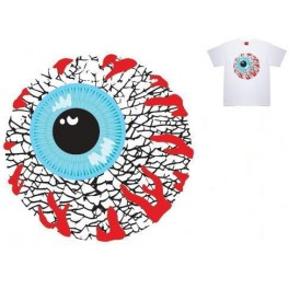 T-shirt - Mishka Damaged Keep Watch - White L