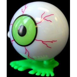 Windup Hopping Eyeball - Flashing