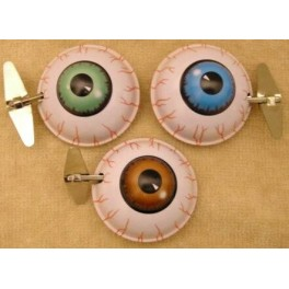 Windup Tin Big Key Wacky Eyeballs (set of 3)