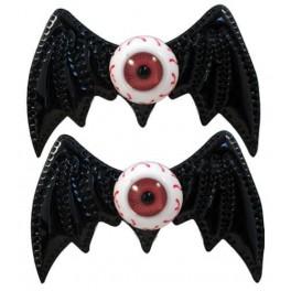 Hairbow Slides - Batty Eye Black