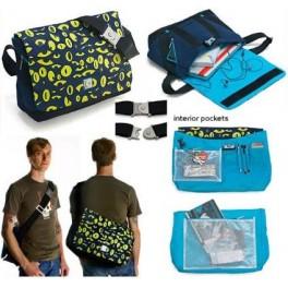 Gama-Go Eyes Wide Open Messenger Bag - Large