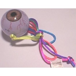 Gliding Eyeball Necklace 1.5in.