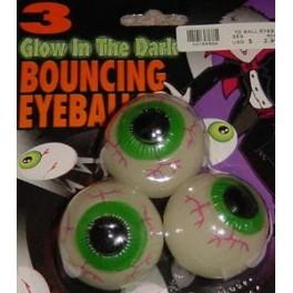 Glow Bouncing Eyeballs