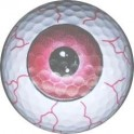 Golf Ball - Red Eye