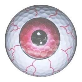 Golf Ball - Red Eye
