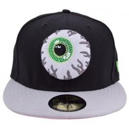 Hat - Mishka Keep Watch New Era - Black-Grey 7 3/4