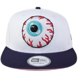 Hat - Mishka Keep Watch New Era Snapback - White