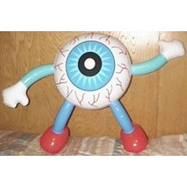 Inflatable Eyeball Man