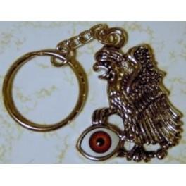 Keychain - Eagle Sitting