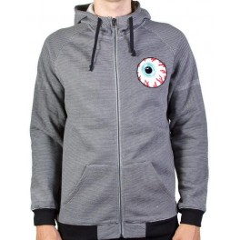 Hoodie - Mishka Keep Watch - Grey - XL