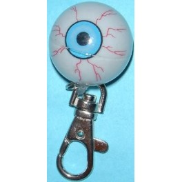Keychain - Flashing Eyeball