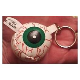 Keychain - Foam Eyeball 1.5in.