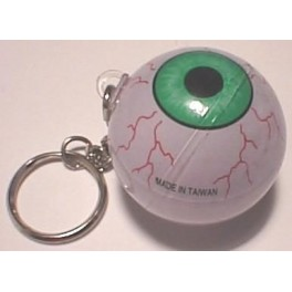 Keychain - Gliding Eyeball 1.5in.
