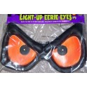 Light-Up Eerie Eyes - Big Orange