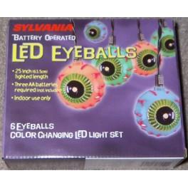 Lights - Sylvania Battery Operated LED Eyeballs