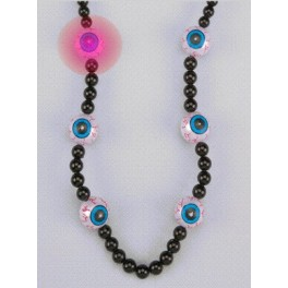 Necklace - Beaded Deluxe - Blinking