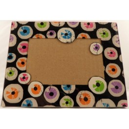 Picture Frame with Eyeballs