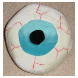 Plush Eyeball 11in. - Blue