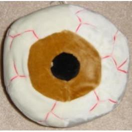 Plush Eyeball 11in. - Brown
