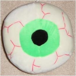 Plush Eyeball 11in. - Green