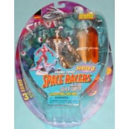 Silver Surfer Alien Eyeball Space Racer