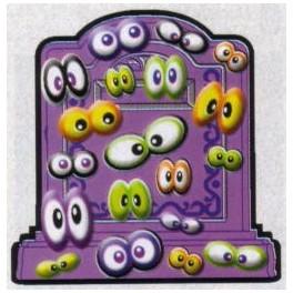 Sticker Bits of Creepy Eyes