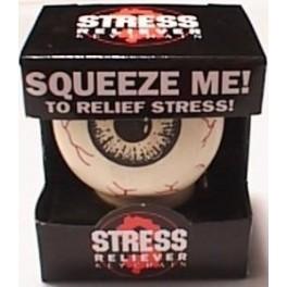 Stress Eyeball Keychain