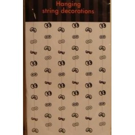String of Hanging Eye Pairs