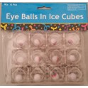 Eyeballs in Ice Cubes (pack of 12)