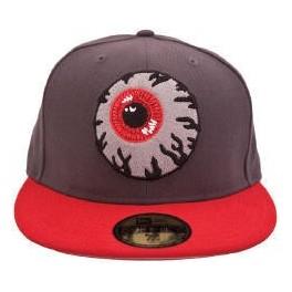 Hat - Mishka Keep Watch - Grey 7 1/2