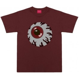 Tshirt - Mishka Keep Watch - Burgundy - L