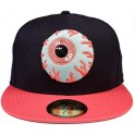 Hat - Mishka Keep Watch New Era - Dark Navy Salmon 7 3/4