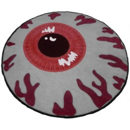 Carpet - Mishka Keep Watch - Cardinal