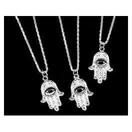 Necklace - Hand with Eye Pendant
