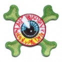 Patch - Eyeball Crossbones