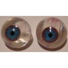 Realistic Eyes - clear/blue