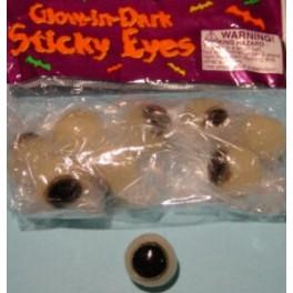 Sticky Glow Eyes (9 pack)