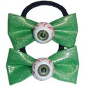 Hairbow Bands - Green Glitter