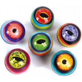 Colorful Eyeball Superball
