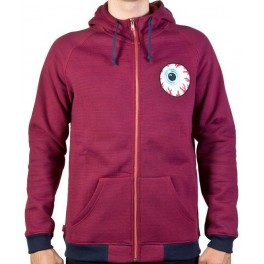 Hoodie - Mishka Keep Watch - Red - L