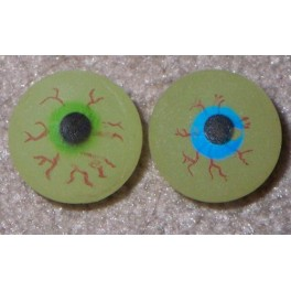 Superball Eyeball Glow - 33mm B (2 pack)