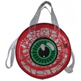 Bag - Transparent Eyeball - Red